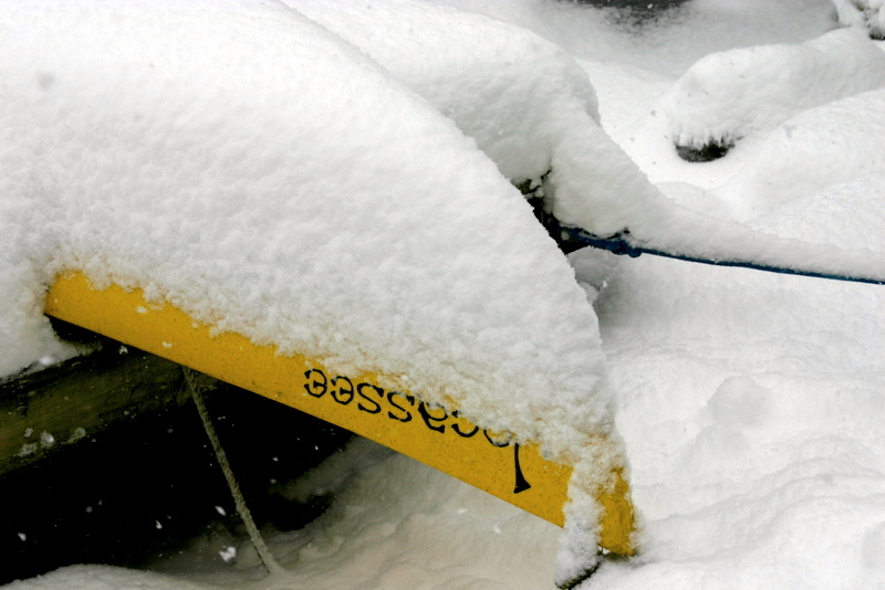 Snowbound Kayak
