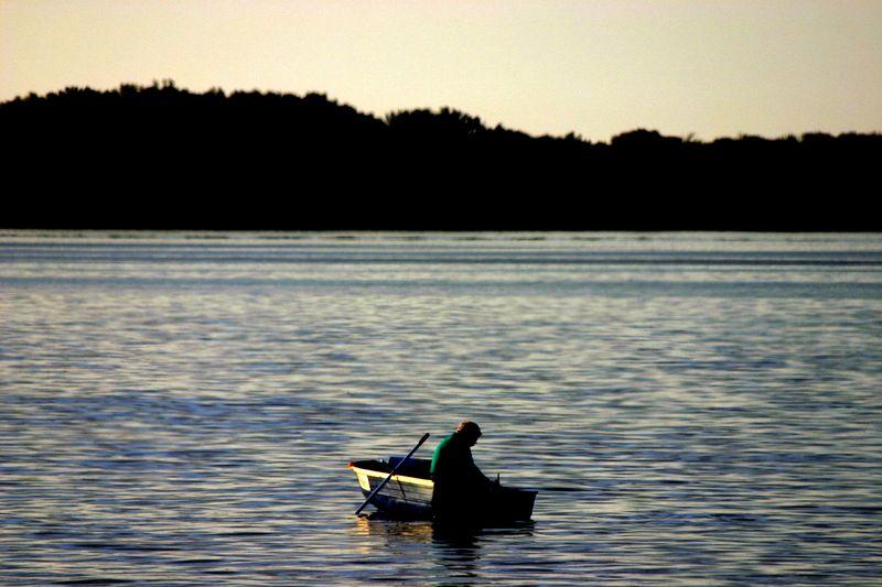 Peaceful row