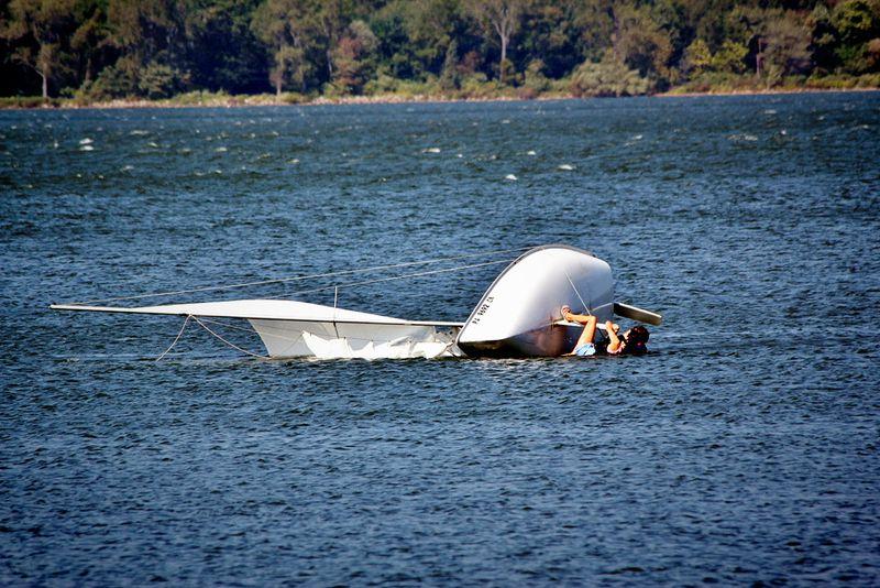Sailboat flip